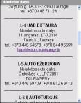 autoTaurage lt App screenshot 4/5