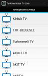 Free Turkmenistan Tv Live screenshot 1/5