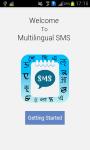 Multilingual SMS screenshot 1/6