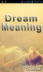dream meaning hindi screenshot 1/4