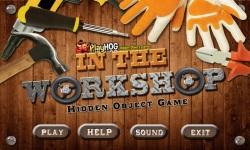 Free Hidden Object Game - In The Workshop screenshot 1/4