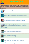 How to Swimming screenshot 2/3
