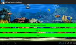 Koi Aquarium Live Wallpaper screenshot 1/4