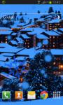 Winter Night Mountains Live Wallpaper screenshot 2/2