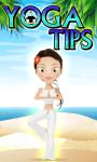 YOGA TIPS App Free screenshot 1/1