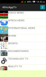 AfricAppTv screenshot 1/6