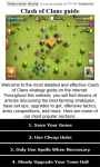 Guide for Clash of Clans free screenshot 1/3