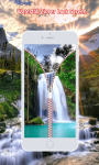 Waterfall Zipper Lock Screen screenshot 5/6
