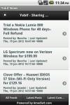 Yobif - Mobile News screenshot 2/6