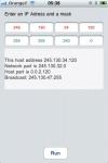 IP subnetting calculator screenshot 1/1