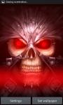 Glowing Skull Grim Reaper LWPfree screenshot 2/3