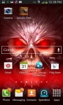 Glowing Skull Grim Reaper LWPfree screenshot 3/3