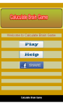 Math Brain game screenshot 2/4