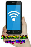 Precaution using WiFi screenshot 1/4