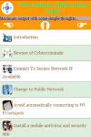 Precaution using WiFi screenshot 3/4