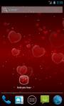 Delicate Hearts Live Wallpaper screenshot 1/4