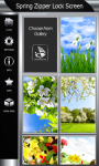Best Spring Zipper Lock Screen screenshot 4/6