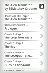 EBook - The Alien Translator screenshot 3/4