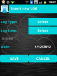 Life Log Lite screenshot 2/4