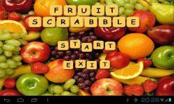 Fruit Scrabble screenshot 1/4