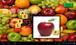 Fruit Scrabble screenshot 2/4