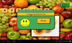 Fruit Scrabble screenshot 3/4
