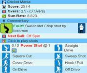 Cricket Mania Free screenshot 1/1
