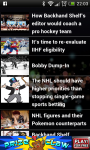 Hockey NHL Schedule Scores and Standings screenshot 3/3