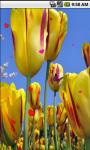 Lovely Yellow Flowers Live Wallpaper screenshot 3/4