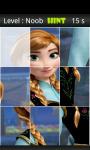 Frozen Jigsaw Puzzle 1 screenshot 2/4