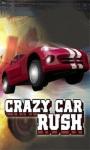 Crazy car rush screenshot 1/6