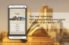 Quiz-Capitals of the world screenshot 2/3