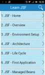Learn JSF screenshot 1/3