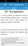 Learn JSF screenshot 3/3