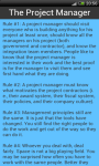 100 RULES PROJECT MANAGERS screenshot 2/2