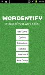 Wordentify screenshot 1/6