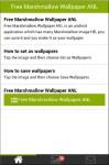Free Marshmallow Wallpaper ANL screenshot 1/3