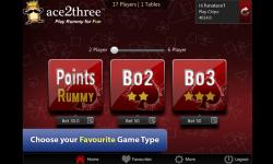 Ace2Three Rummy screenshot 2/6