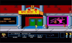 The Simpsons Bart vs The Space Mutants screenshot 2/4