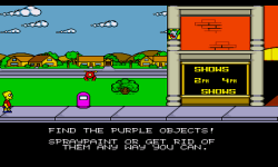 The Simpsons Bart vs The Space Mutants screenshot 4/4