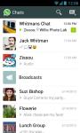 whatsapp  Instant messaging screenshot 5/6