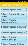 Learn JasperReports screenshot 1/2