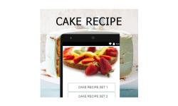 Cake recipes  food screenshot 1/3