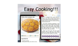 Cake recipes  food screenshot 2/3