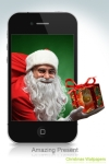 Christmas Wallpapers & Backgrounds with Xmas Glow Effects screenshot 1/1
