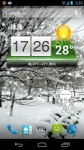 New Falling Snow Live Wallpaper screenshot 2/3
