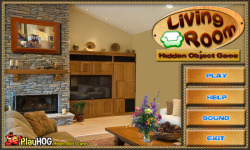 Free Hidden Object Games - Living Room screenshot 1/4