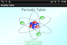 Periodic Table of Chemical Elements screenshot 1/6