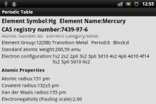 Periodic Table of Chemical Elements screenshot 6/6