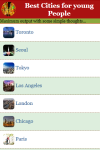 Best Cities for young People screenshot 3/4
